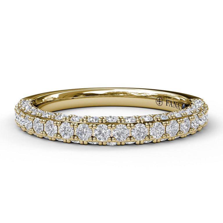 Diamond Wedding Band 3035 - Chalmers Jewelers