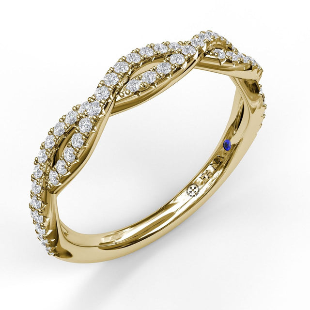 Diamond Stackable Band 7149 - Chalmers Jewelers