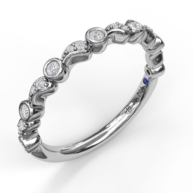 Diamond Stackable Band 7166 - Chalmers Jewelers