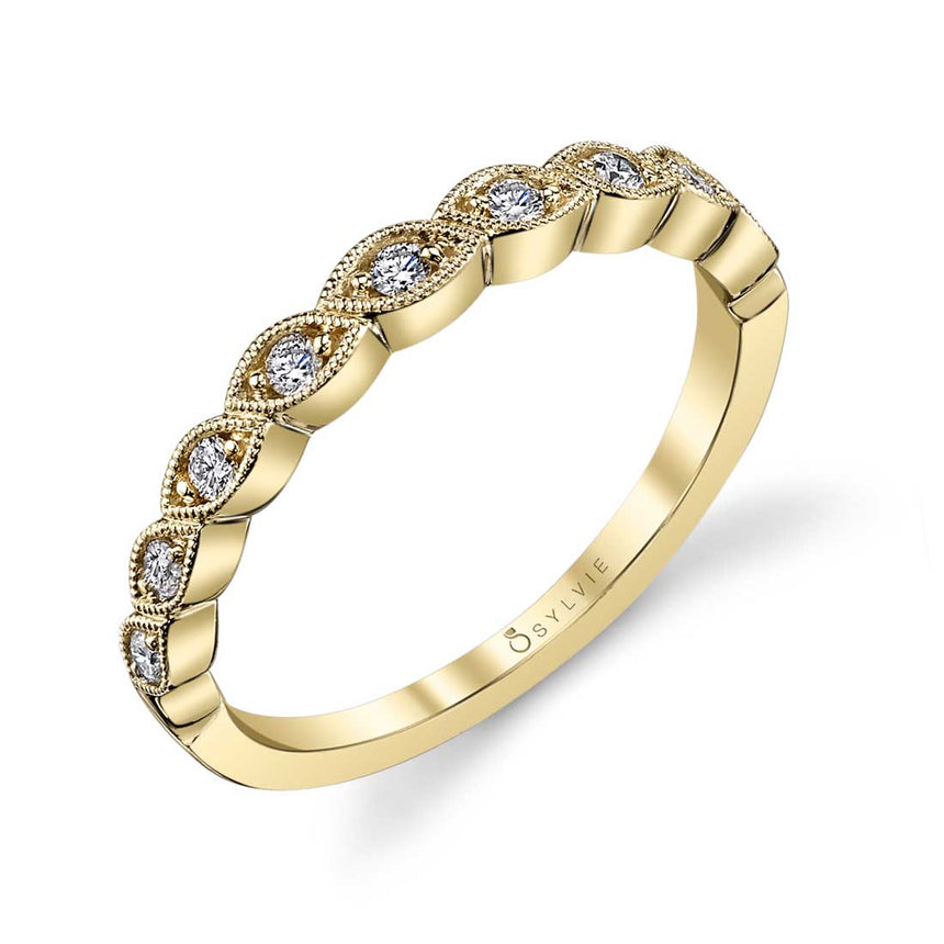 Sylvie Stackable Band - B0016 - Chalmers Jewelers