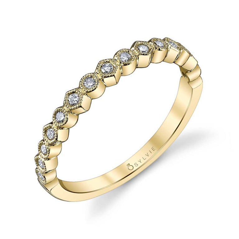 Sylvie Stackable Band - B0019 - Chalmers Jewelers