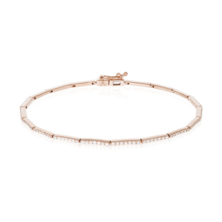 14k Gold Diamond Tennis Bracelet - Chalmers Jewelers