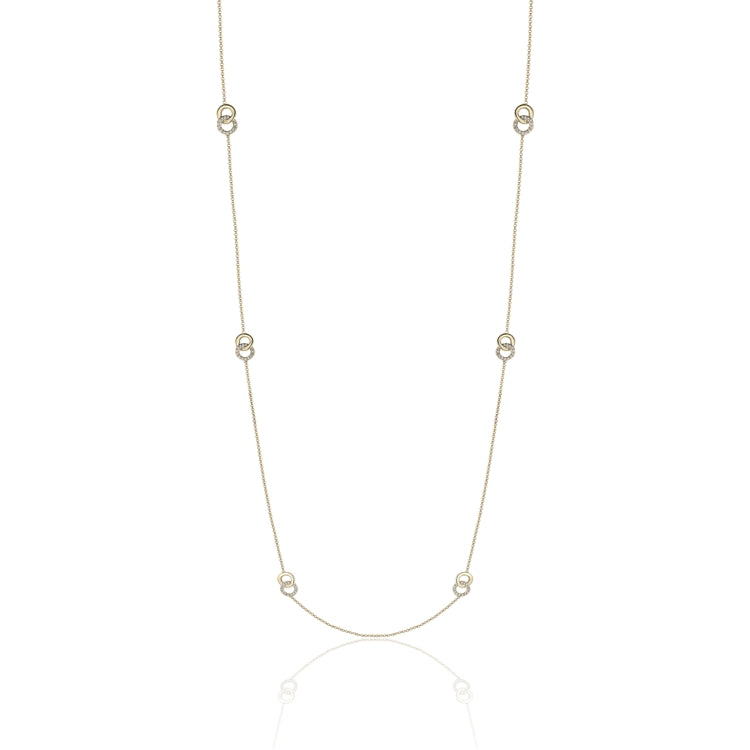 14k Gold Diamond Neckalce - Chalmers Jewelers