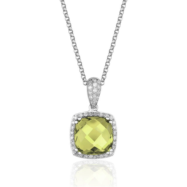 Peridot 14kt Gold Necklace
