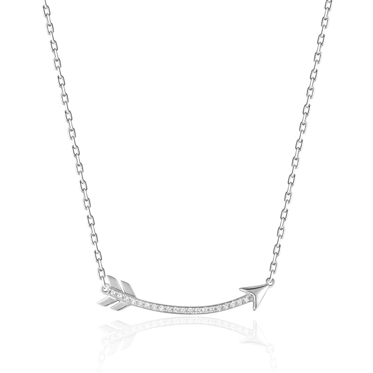 14k Diamond Arrow Necklace