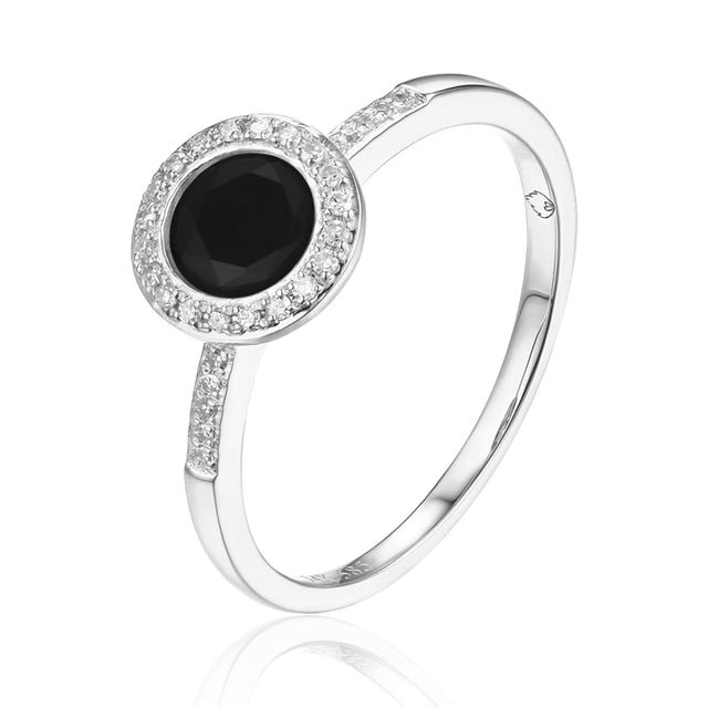 Black Onyx 14kt Gold Ring