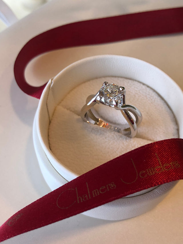 Custom Engagement Ring Example