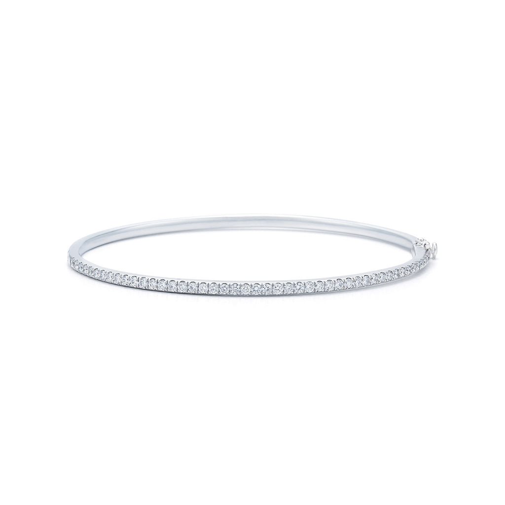 Kwiat Stackable Diamond Bracelet - White Gold