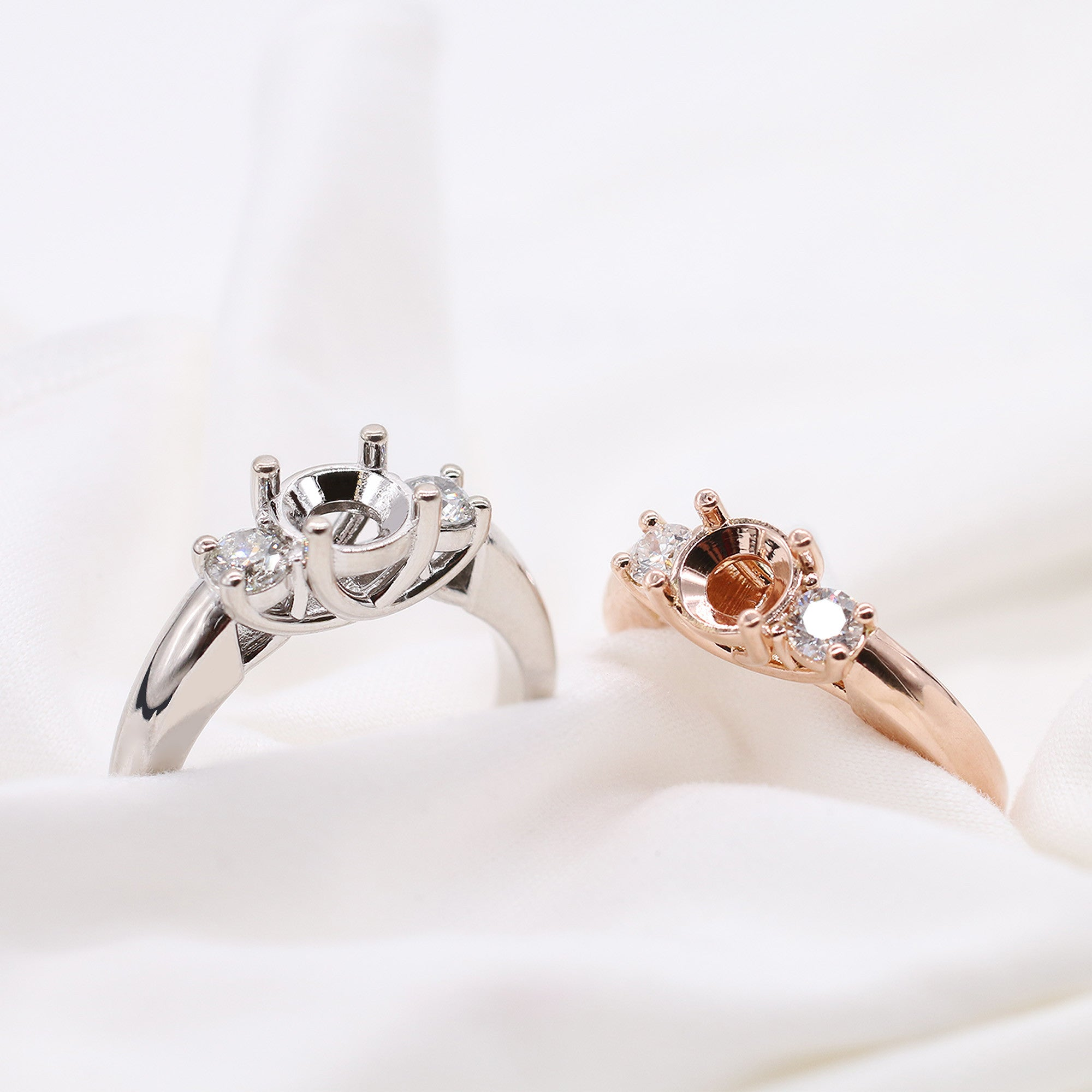 Custom Engagement Ring Mountings