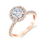 Halo Engagement Ring S1P14 - RB - Chalmers Jewelers