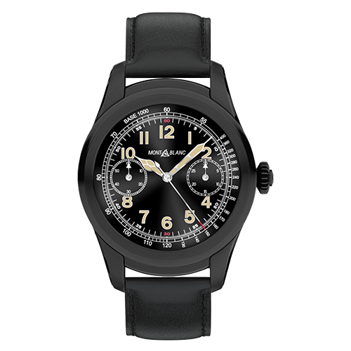 Montblanc Summit Smartwatch Black Steel