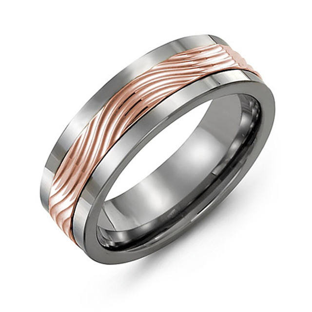 Wave Wedding Band