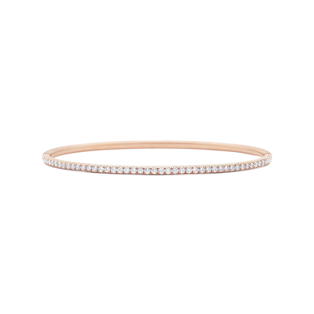 Kwiat Stackable Diamond Bracelet - Rose Gold