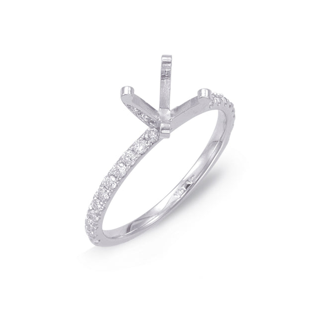 Classic Solitaire Diamond Ring - Chalmers Jewelers