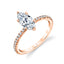 Marquise Engagement Ring S2093 - MQ - Chalmers Jewelers