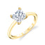 Princess Cut Engagement Ring S1955 - PR - Chalmers Jewelers