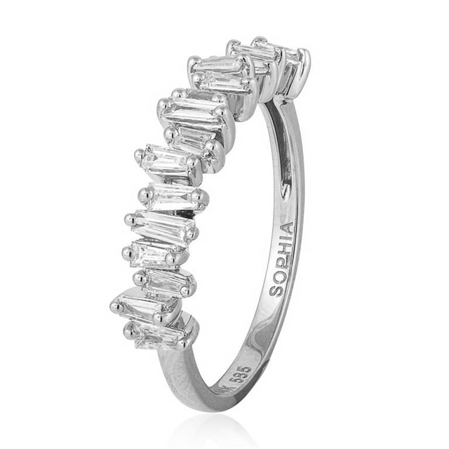 Tapered Diamond Ring - Chalmers Jewelers