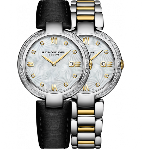 Raymond Weil Shine Two Tone w/ Diamonds