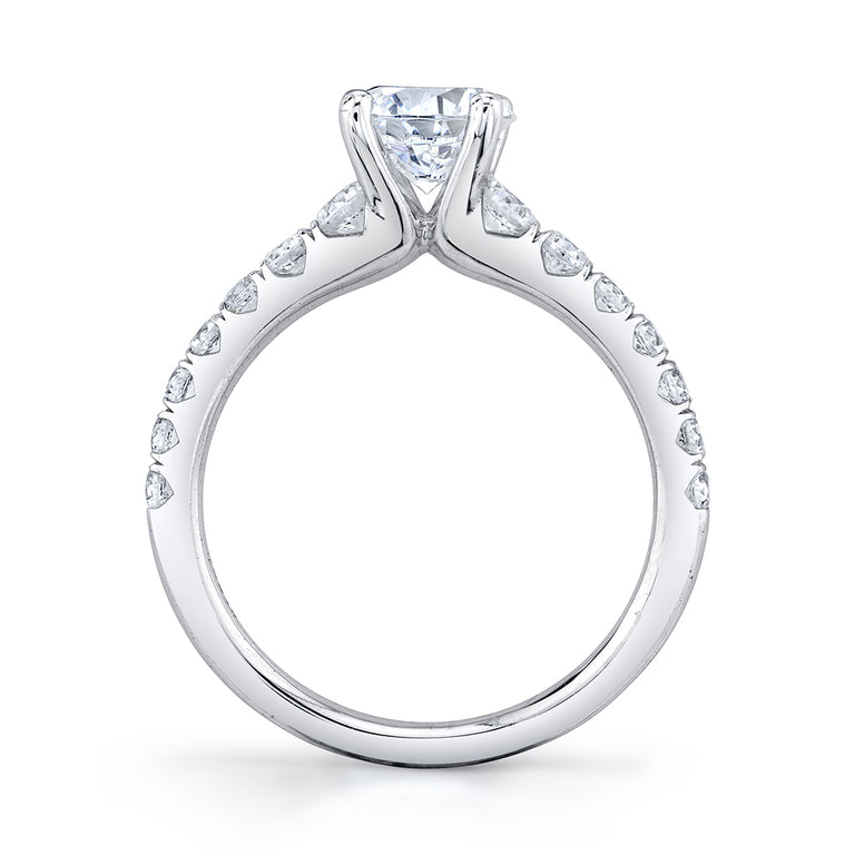 Solitaire Engagement Ring S1860 - Chalmers Jewelers