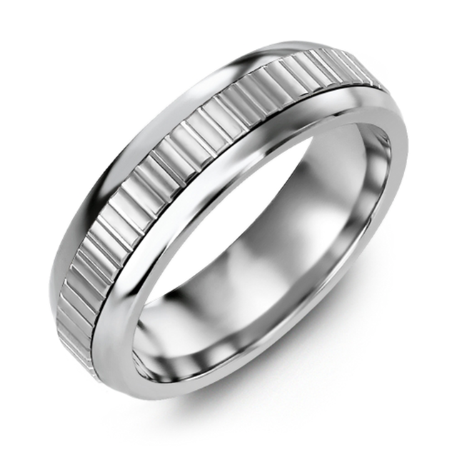 Eternity Accents Wedding Band