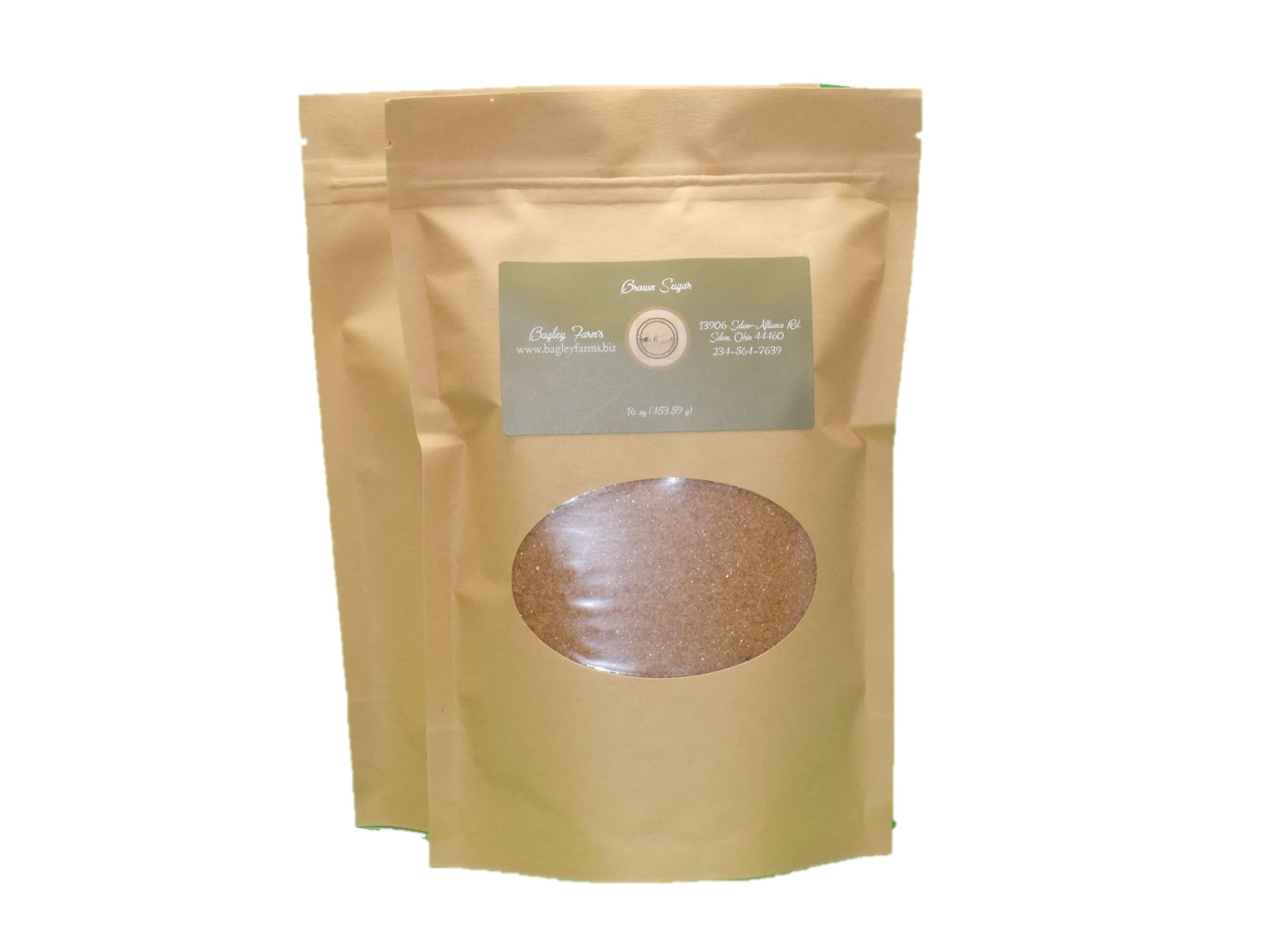 Bagley Farm's Brown Sugar, Light 24 oz