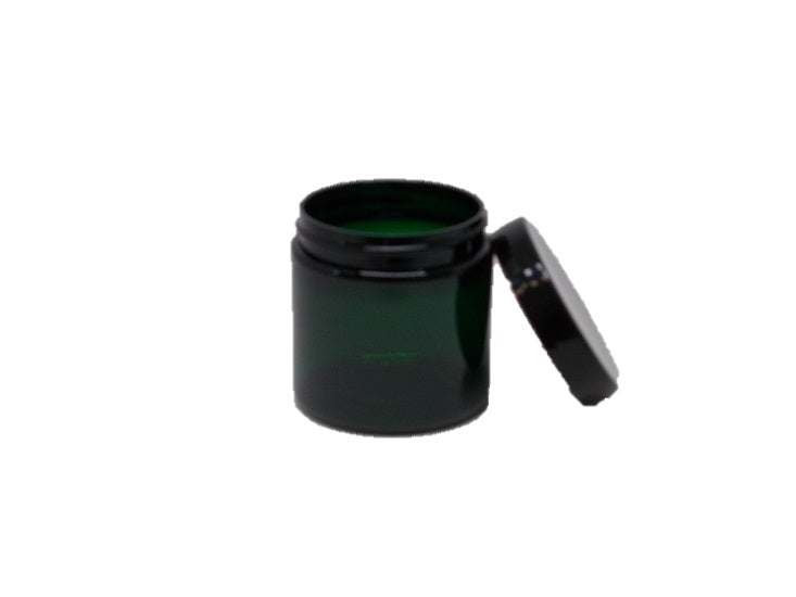 4 oz Emerald Jar with Lid (PET)