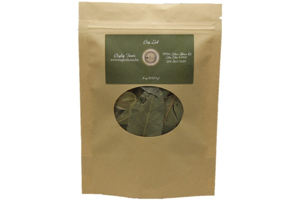 Organic Bay Leaf, Whole Spice .50 oz