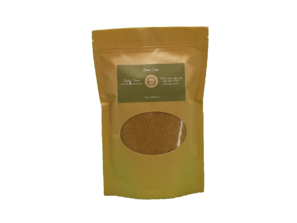Bagley Farm's Brown Sugar, Light 16 oz