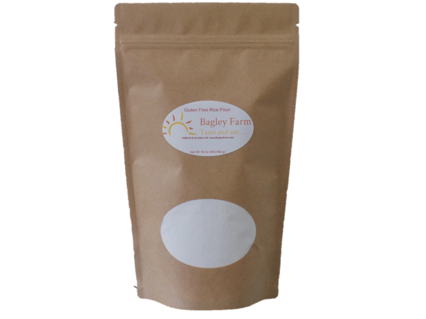 White Rice Flour 16 oz