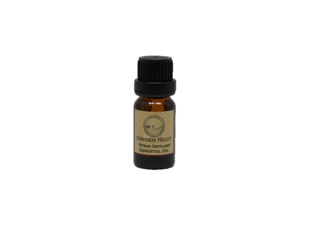Ginger Root (steam distilled - China) Essential Oil 10 ml
