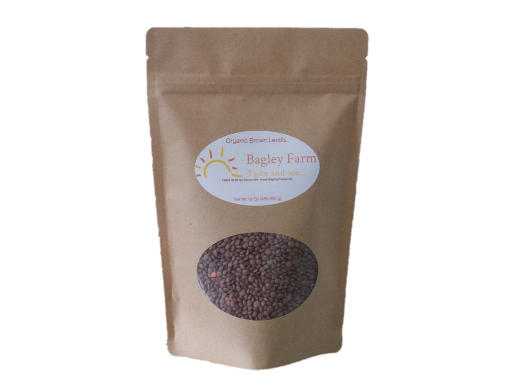 Lentils, Brown 16 oz