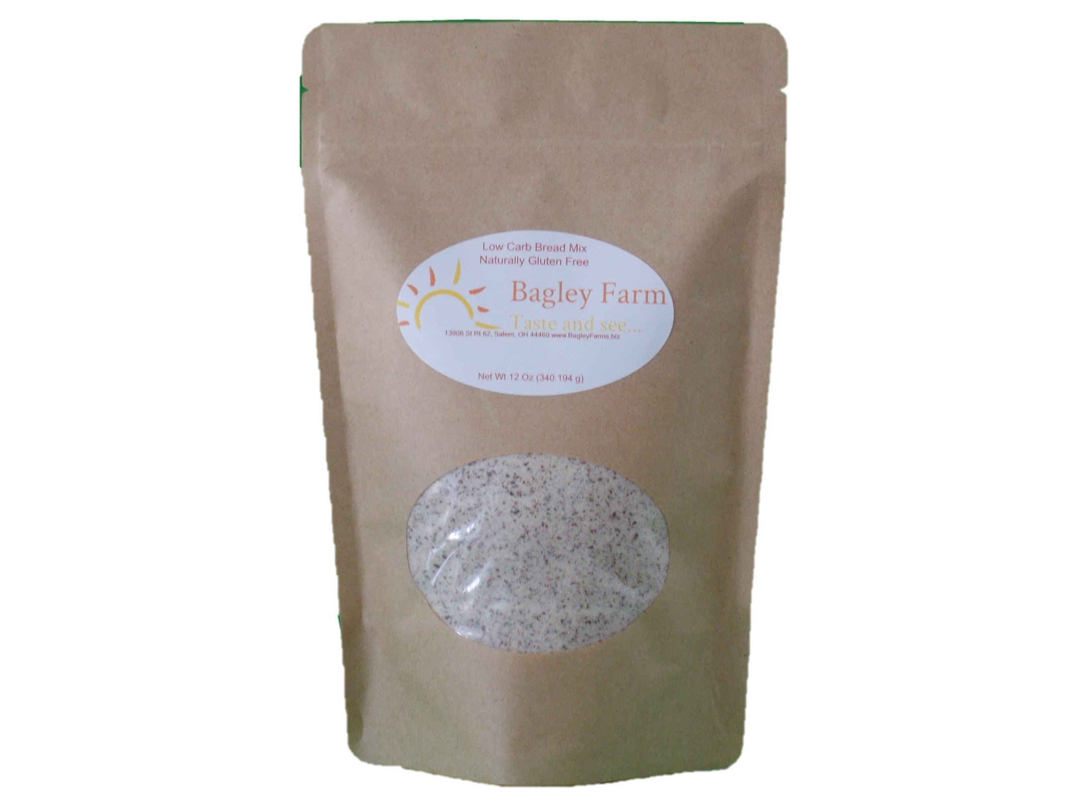 Bagley Farm's Low Carb Gluten Free Bread Mix