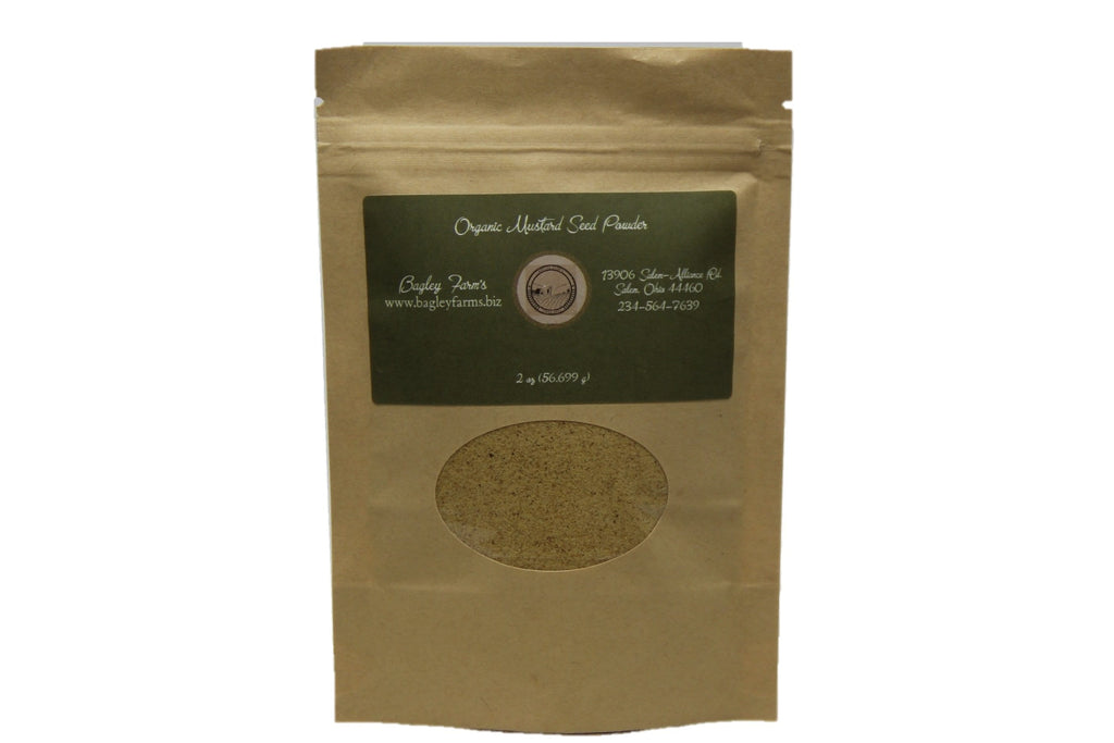 Mustard Seed, Organic Powder 2 oz