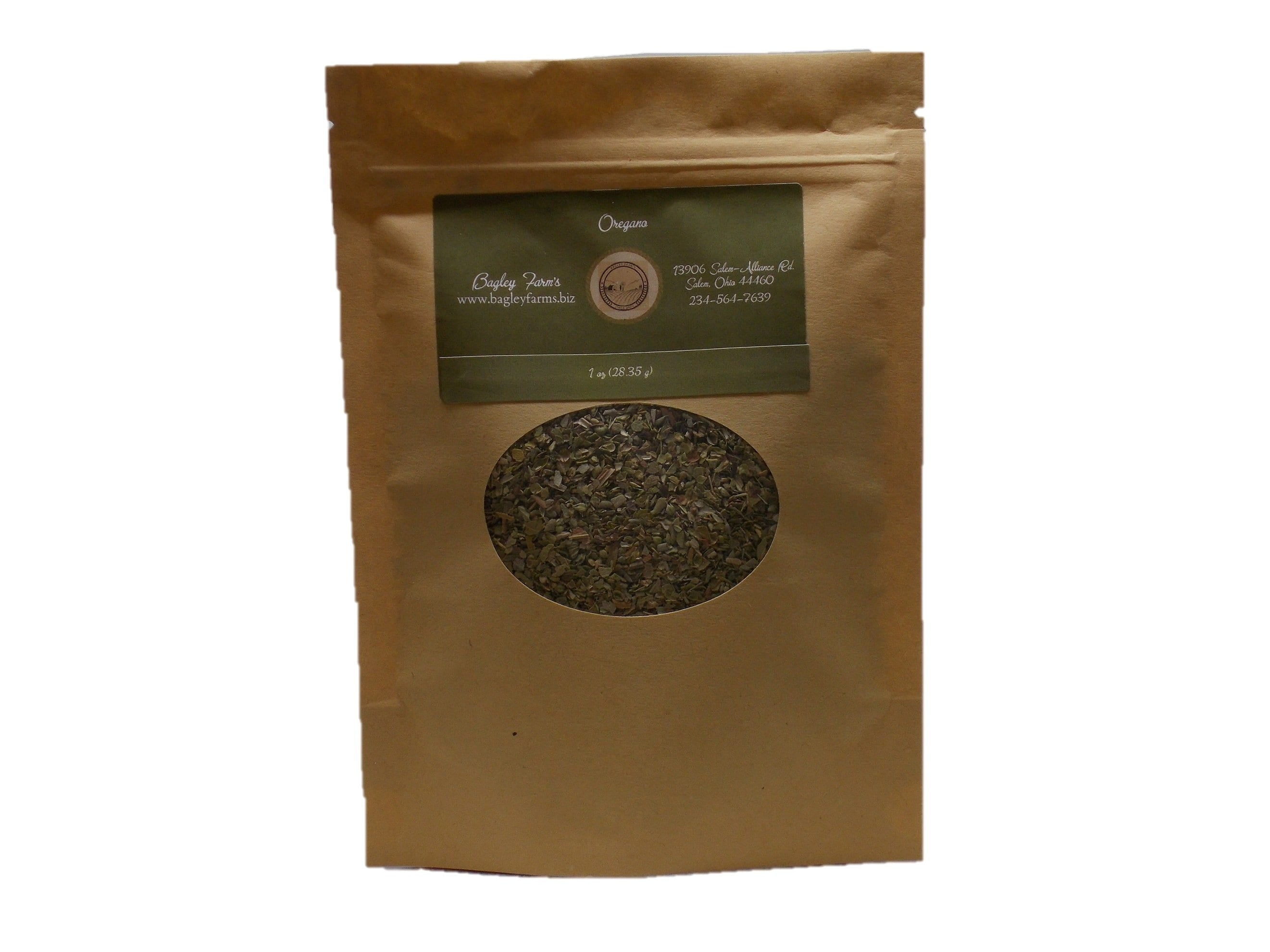 Bagley Farm's Cut Oregano 1 oz