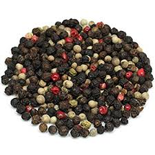 Organic Rainbow Peppercorn 2 oz