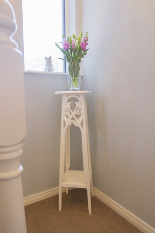 Heath Flower Carved  Stand