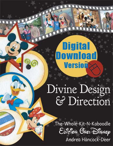 DIGITAL Divine Design & Direction Edition 1: Disney