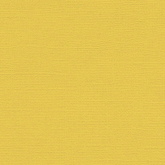 My Colors Canvas Cardstock: Banana Pepper