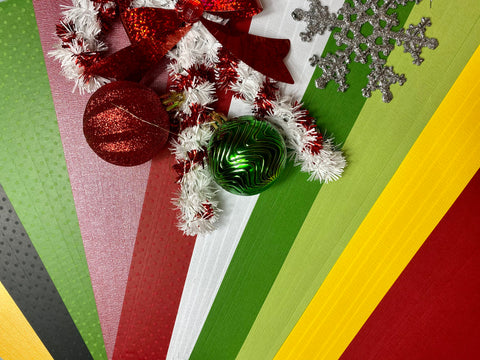 Cardstock Christmas Collection: Traditional