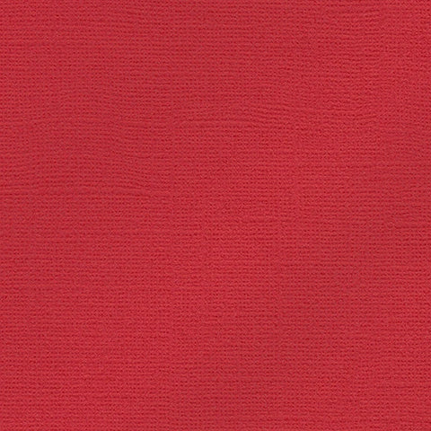 My Colors Glimmer Cardstock: Imperial Red