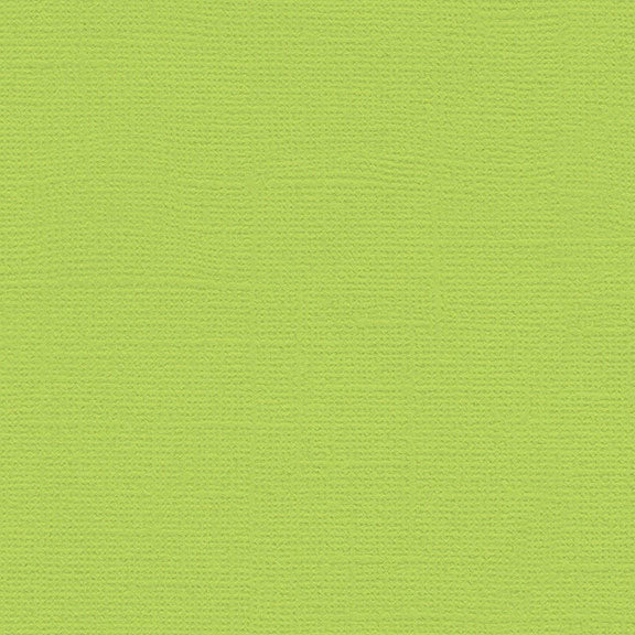 My Colors Canvas Cardstock: Limelight
