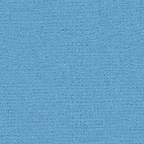 My Colors Canvas Cardstock: Madras Blue