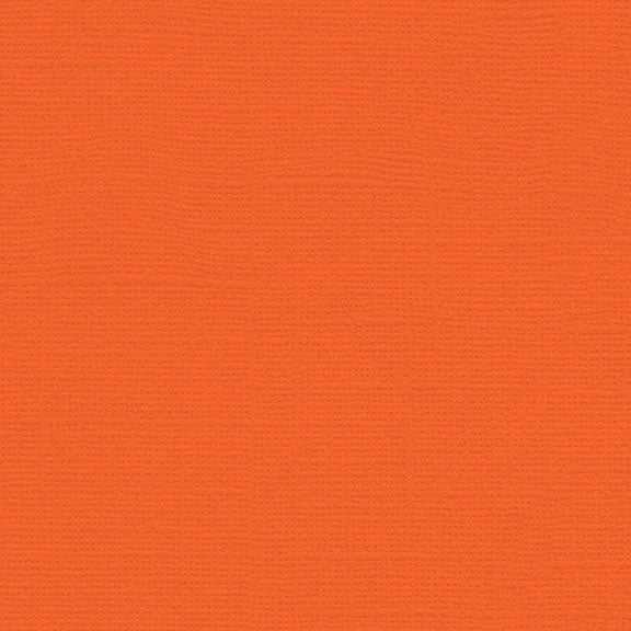 My Colors Canvas Cardstock: Mandarin