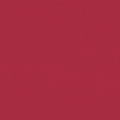 My Colors Canvas Cardstock: Red Cherry