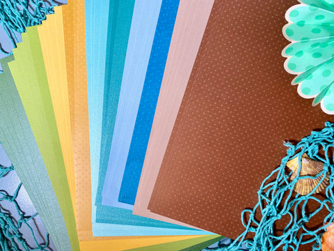 *NEW* Cardstock Collection: Under the Sea