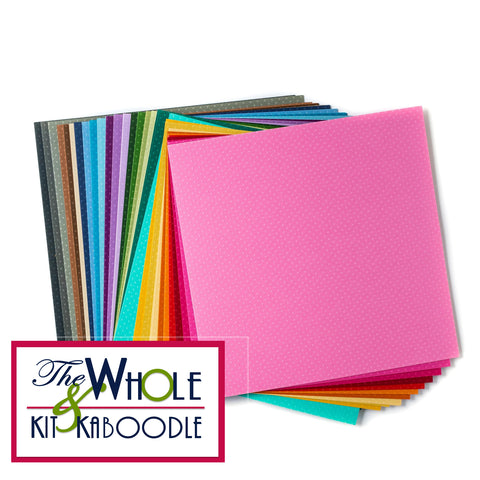 *NEW* Embossed Dot Cardstock 12x12 Collection