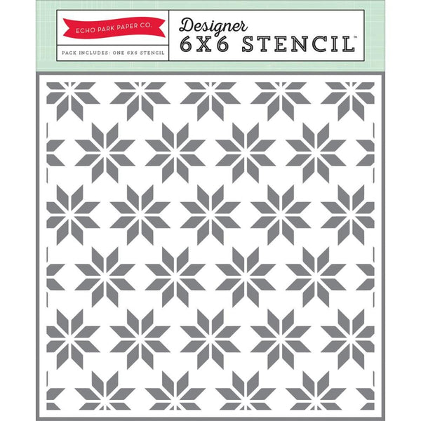 *NEW* Stencil: Holiday Quilt