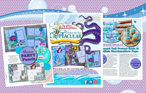 DIGITAL Under the Sea CropTacular Booklet