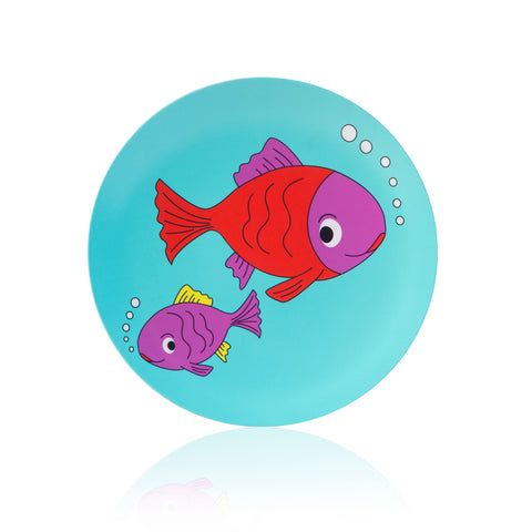 melamine kids plates (break resistant)
