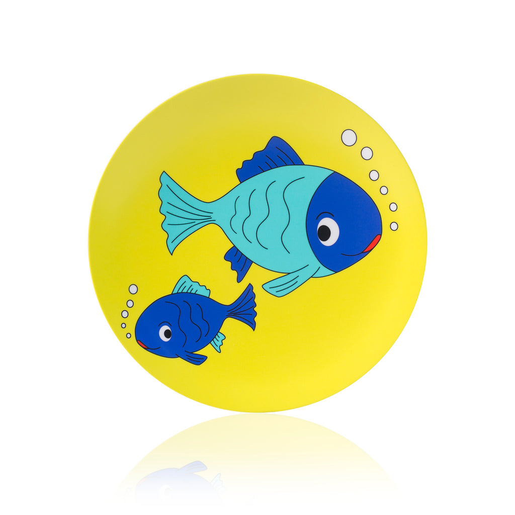 melamine kids plate (break resistant)